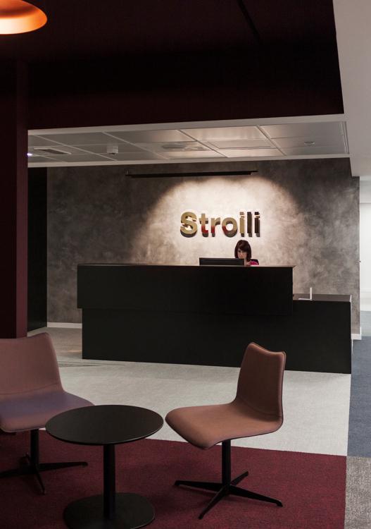 Milan offices for 'Stroili Group'
